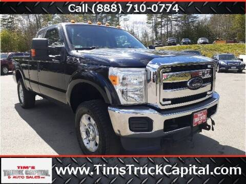 2012 Ford F-250 Super Duty for sale at TTC AUTO OUTLET/TIM'S TRUCK CAPITAL & AUTO SALES INC ANNEX in Epsom NH