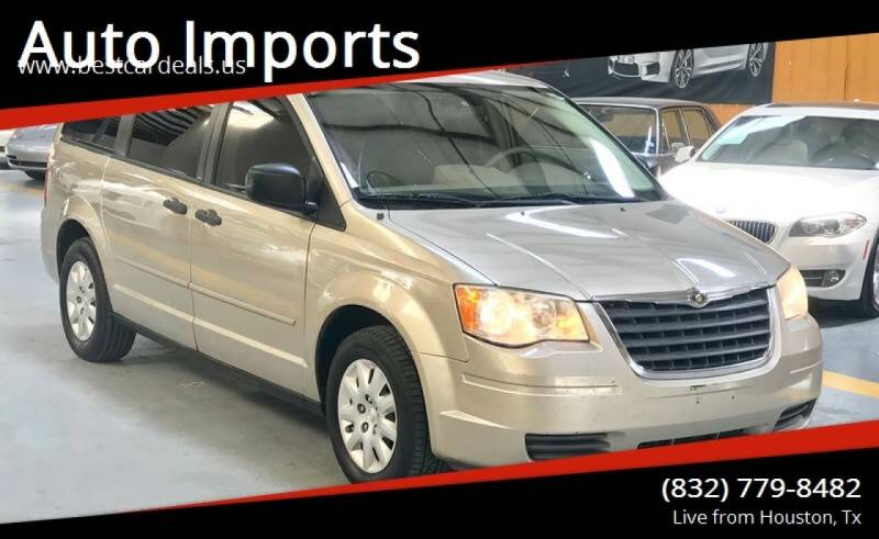 2008 Chrysler Town and Country for sale at Auto Imports in Houston TX