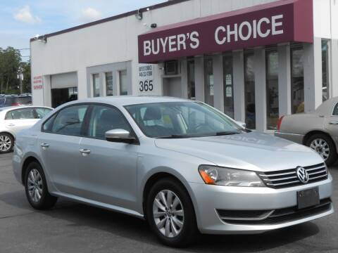 2015 Volkswagen Passat for sale at Buyers Choice Auto Sales in Bedford OH