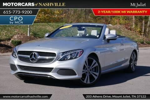 2017 Mercedes-Benz C-Class for sale at MotorCars of Nashville in Mount Juliet TN
