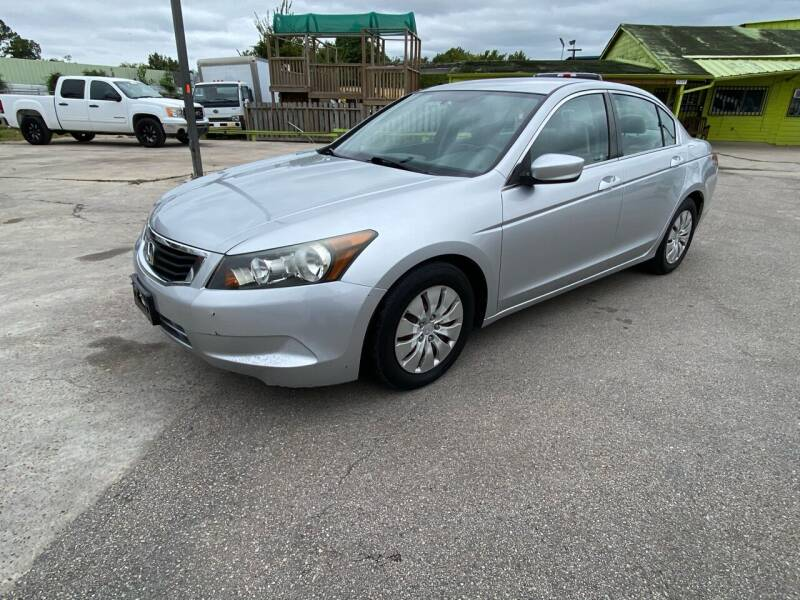 2010 Honda Accord for sale at RODRIGUEZ MOTORS CO. in Houston TX