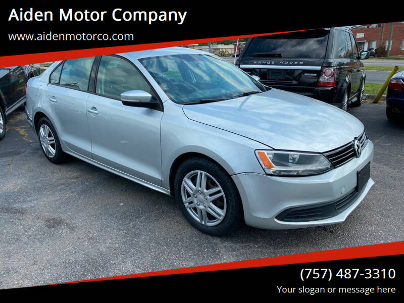 2011 Volkswagen Jetta for sale at Aiden Motor Company in Portsmouth VA