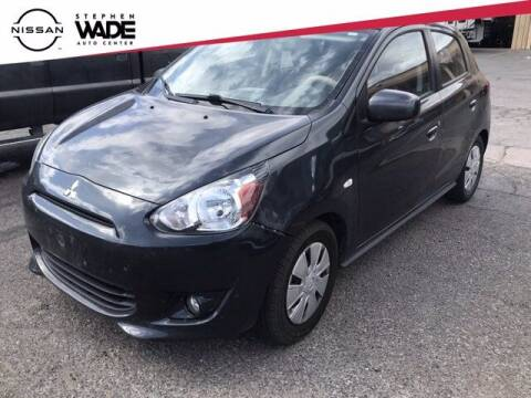 2015 Mitsubishi Mirage for sale at Stephen Wade Pre-Owned Supercenter in Saint George UT