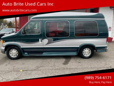 1999 Ford E-Series Cargo for sale at Auto Brite Used Cars Inc in Saginaw MI