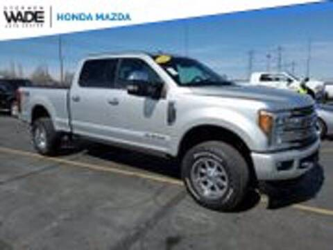 2018 Ford F-350 Super Duty for sale at Stephen Wade Pre-Owned Supercenter in Saint George UT