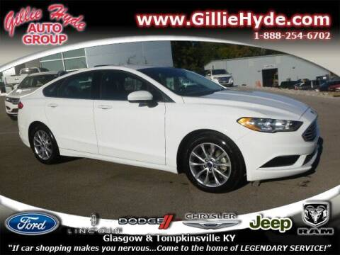 2017 Ford Fusion for sale at Gillie Hyde Auto Group in Glasgow KY