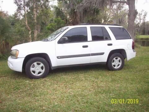 2003 Chevrolet TrailBlazer for sale at Bargain Auto Mart Inc. in Kenneth City FL