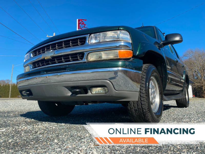 2002 Chevrolet Tahoe for sale at Prime One Inc in Walkertown NC