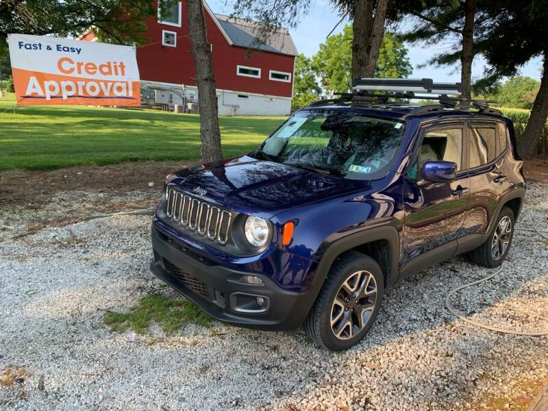 2017 Jeep Renegade for sale at Caulfields Family Auto Sales in Bath PA
