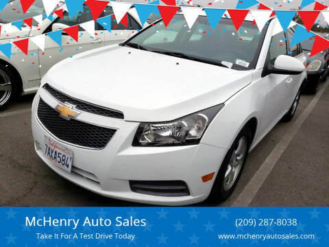 2012 Chevrolet Cruze for sale at McHenry Auto Sales in Modesto CA