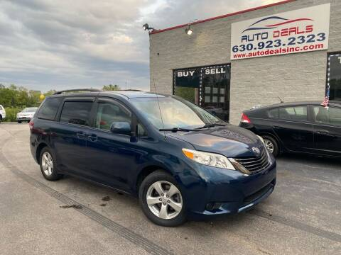 2011 Toyota Sienna for sale at Auto Deals in Roselle IL