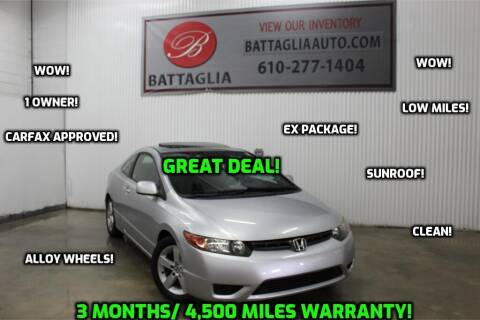 2006 Honda Civic for sale at Battaglia Auto Sales in Plymouth Meeting PA