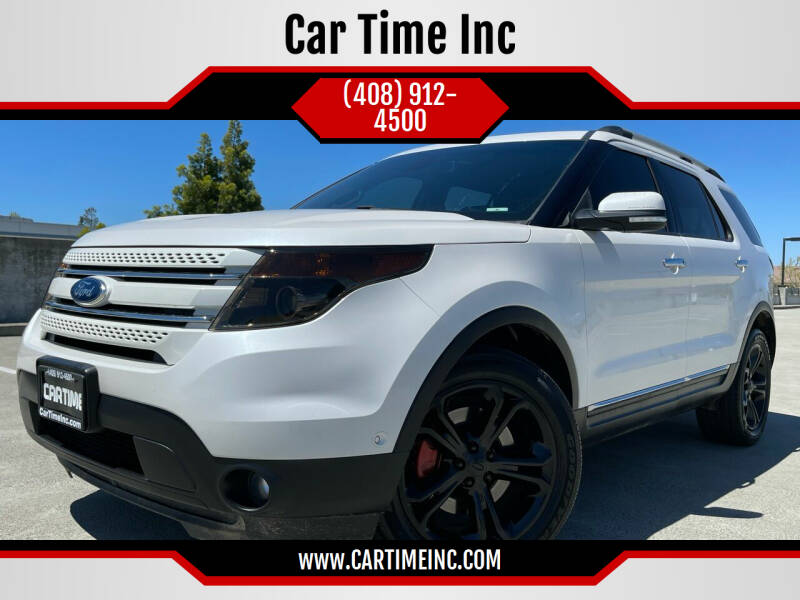2015 Ford Explorer for sale at Car Time Inc in San Jose CA