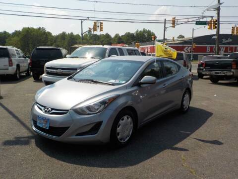 2016 Hyundai Elantra for sale at United Auto Land in Woodbury NJ