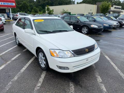 2000 Toyota Avalon for sale at Sandy Lane Auto Sales and Repair in Warwick RI