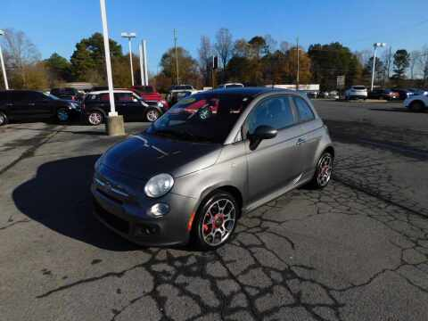 2012 FIAT 500 for sale at Paniagua Auto Mall in Dalton GA