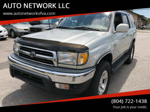 2000 Toyota 4Runner for sale at AUTO NETWORK LLC in Petersburg VA