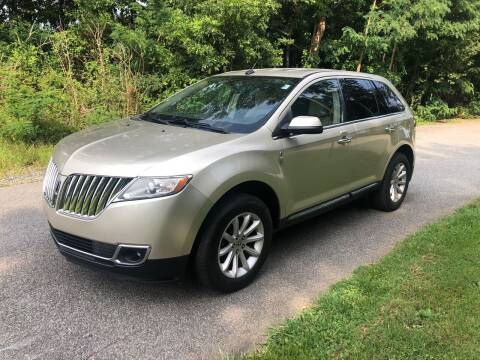 2011 Lincoln MKX for sale at Speed Auto Mall in Greensboro NC