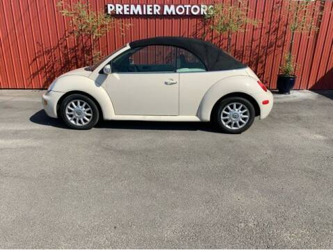 2005 Volkswagen New Beetle Convertible for sale at PremierMotors INC. in Milton Freewater OR