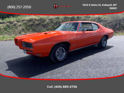 1968 Pontiac GTO for sale at Auto Solutions in Kalispell MT