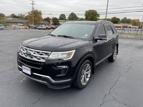 2018 Ford Explorer for sale at MATHEWS FORD in Marion OH