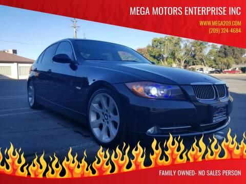 2007 BMW 3 Series for sale at MEGA MOTORS ENTERPRISE INC in Modesto CA