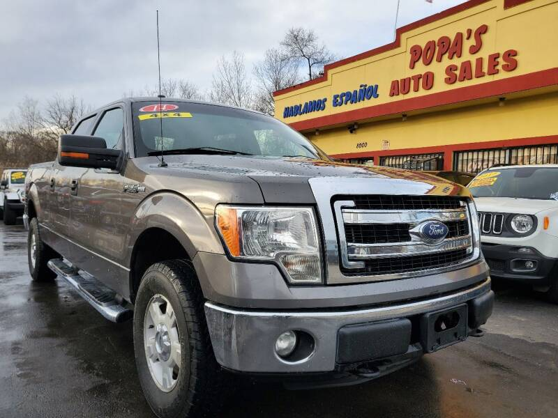 2014 Ford F-150 for sale at Popas Auto Sales in Detroit MI