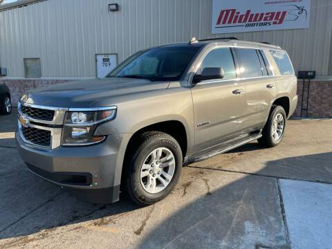 2017 Chevrolet Tahoe for sale at Midway Motors in Conway AR