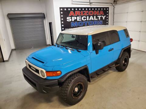 2007 Toyota FJ Cruiser for sale at Arizona Specialty Motors in Tempe AZ