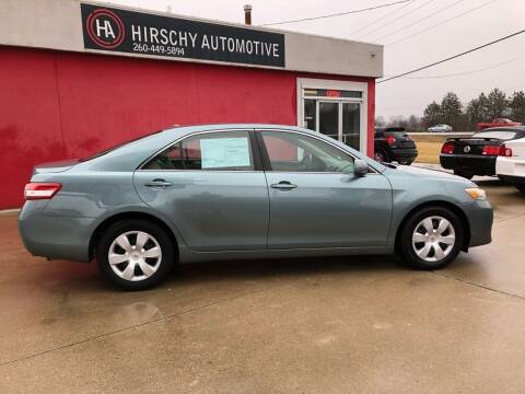 2010 Toyota Camry for sale at Hirschy Automotive in Fort Wayne IN