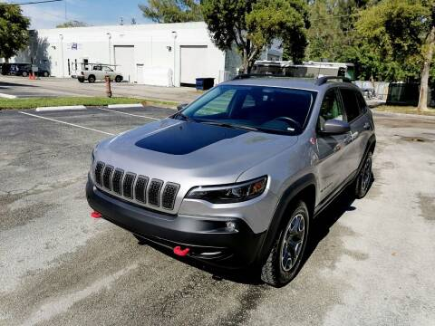 2020 Jeep Cherokee for sale at Best Price Car Dealer in Hallandale Beach FL