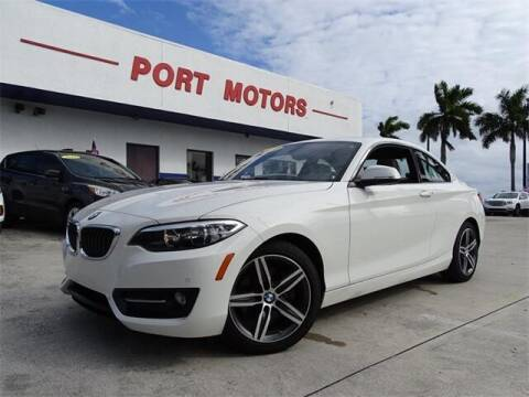 2017 BMW 2 Series for sale at Automotive Credit Union Services in West Palm Beach FL
