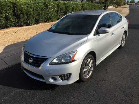2013 Nissan Sentra for sale at FAMILY AUTO SALES in Sun City AZ