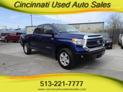 2014 Toyota Tundra for sale at Cincinnati Used Auto Sales in Cincinnati OH