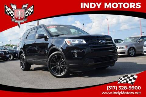 2019 Ford Explorer for sale at Indy Motors Inc in Indianapolis IN