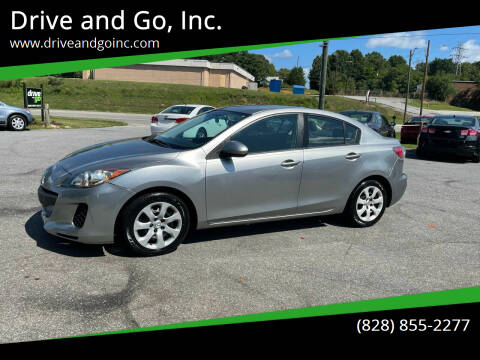 2012 Mazda MAZDA3 for sale at Drive and Go, Inc. in Hickory NC