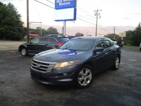 2012 Honda Crosstour for sale at Mill Street Motors in Worcester MA