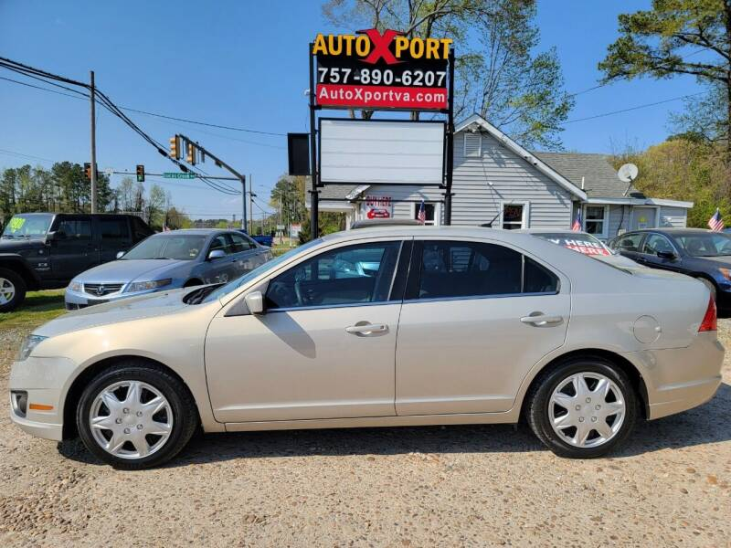 2010 Ford Fusion for sale at Autoxport in Newport News VA
