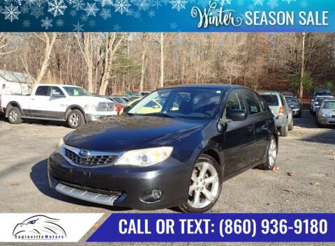 2008 Subaru Impreza for sale at EAGLEVILLE MOTORS LLC in Storrs CT