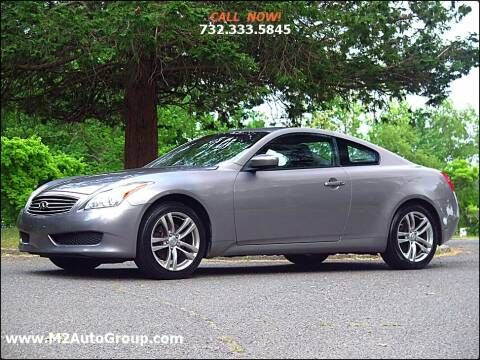 2009 Infiniti G37 Coupe for sale at M2 Auto Group Llc. EAST BRUNSWICK in East Brunswick NJ