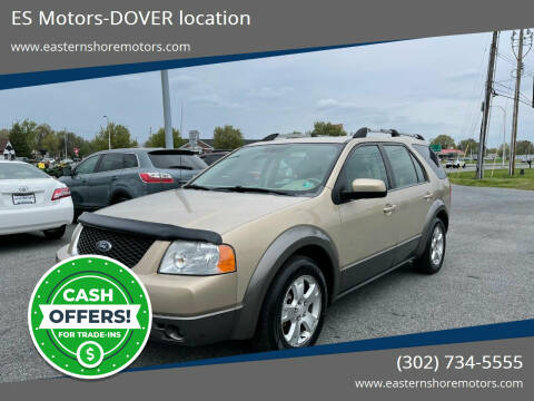 2007 Ford Freestyle for sale at ES Motors-DAGSBORO location - Dover in Dover DE