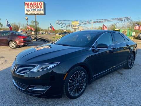 2014 Lincoln MKZ Hybrid for sale at Mario Motors in South Houston TX