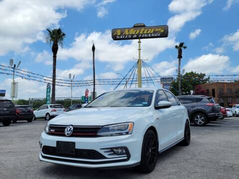 2016 Volkswagen Jetta for sale at A MOTORS SALES AND FINANCE in San Antonio TX