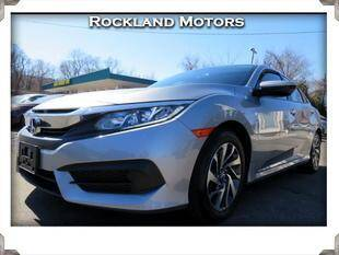 2018 Honda Civic for sale at Rockland Automall - Rockland Motors in West Nyack NY