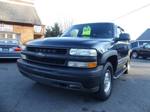 2002 Chevrolet Tahoe for sale at P&D Sales in Rockaway NJ
