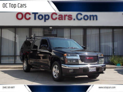 2011 GMC Canyon for sale at OC Top Cars in Irvine CA