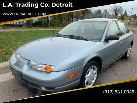 2002 Saturn S-Series for sale at L.A. Trading Co. Woodhaven - L.A. Trading Co. Detroit in Detroit MI