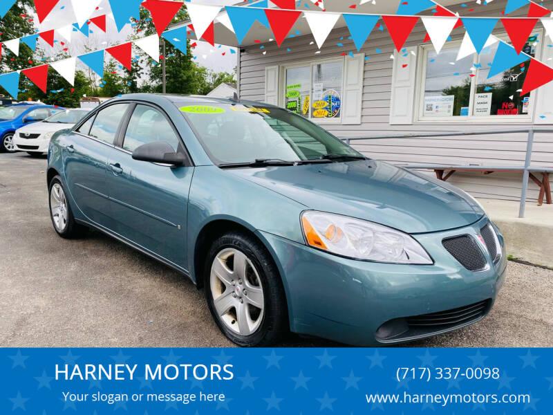 2009 Pontiac G6 for sale at HARNEY MOTORS in Gettysburg PA