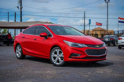 2017 Chevrolet Cruze for sale at Jerrys Auto Sales in San Benito TX