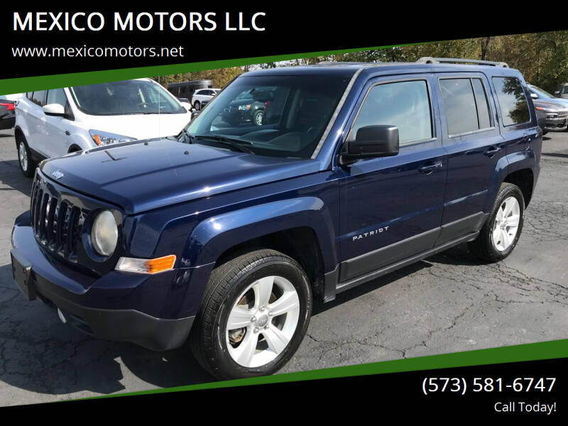 2015 Jeep Patriot for sale at MEXICO MOTORS LLC in Mexico MO